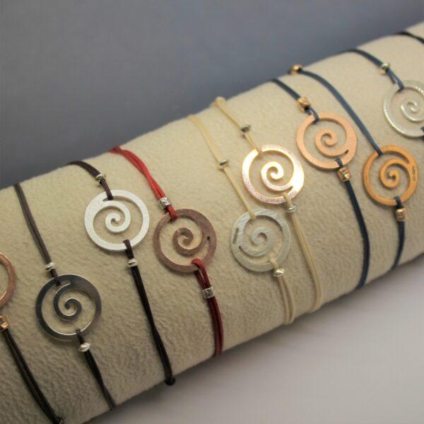 Koru.bracciale.insieme.argento.